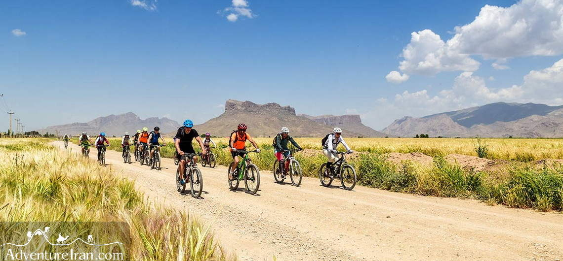 Cycling in Central Iran